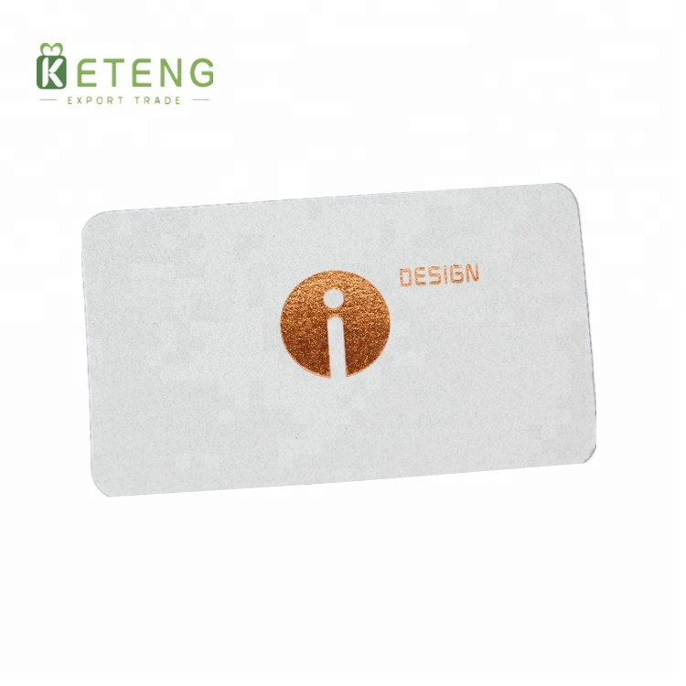Wholesale premium cotton business paper card with custom design