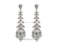 Tiered Chandelier Earrings fashion jewellery Indian Jewelry Manufacturers Jewellery Wholesalers Gemstones Suppliers in India