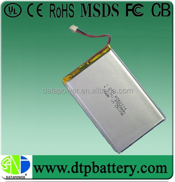 DTP rechargeable 3.7v 4500mah long lasting battery for mobile phone