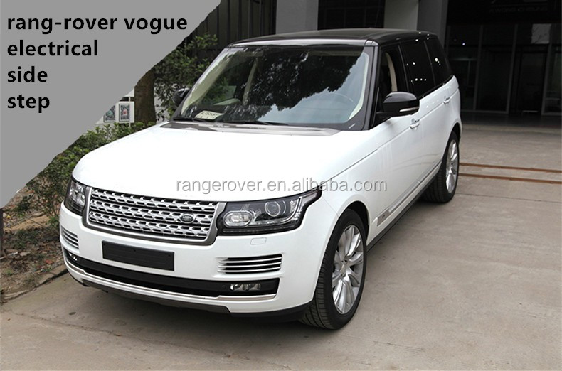 For 2013-2015 range-rover vogue electrical side step auto running board