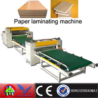 MDF paper/pvc laminate/wrapping machine woodworking machinery