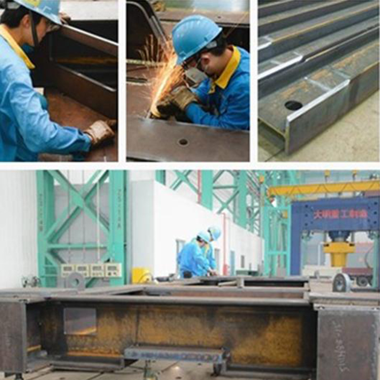 Oem Steel Fabrication Steel Rear And Front Frame Welding And Painting Service Metal Structure Fabricator