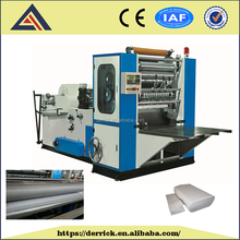 Top quality factory hand towel tissue machine with low price