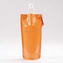 BPA free,FDA food grade/MSDS custom foldable water,reusable pe water bag