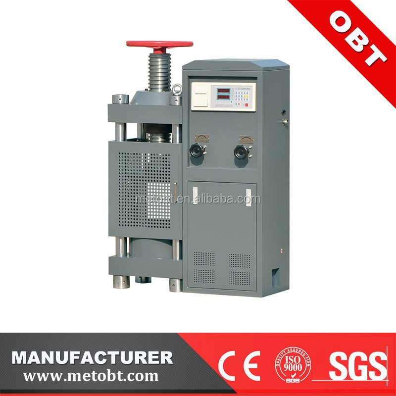 YES-2000 200T Manual Digital Concrete cube compression test machine