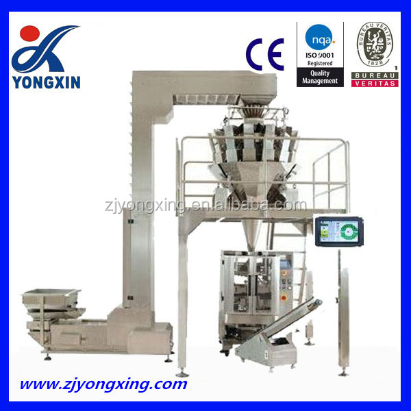 breakfast cereal pack machinery with multi heads