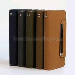 Detachable Magnetic PC+PU Leather Wallet with Card Slots Flip Stand Housing Case for Samsung Galaxy S4 i9500