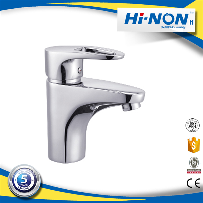 China new designs durable hot and cold water fancy bathroom sink faucets