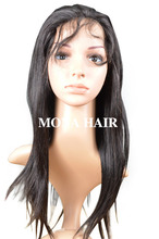 Mona Hair body wave human hair cheap lace front wig with baby hair