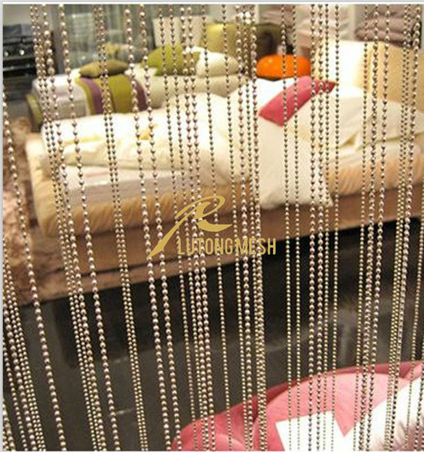 Metal ball chain curtain,hanging room divider,partition