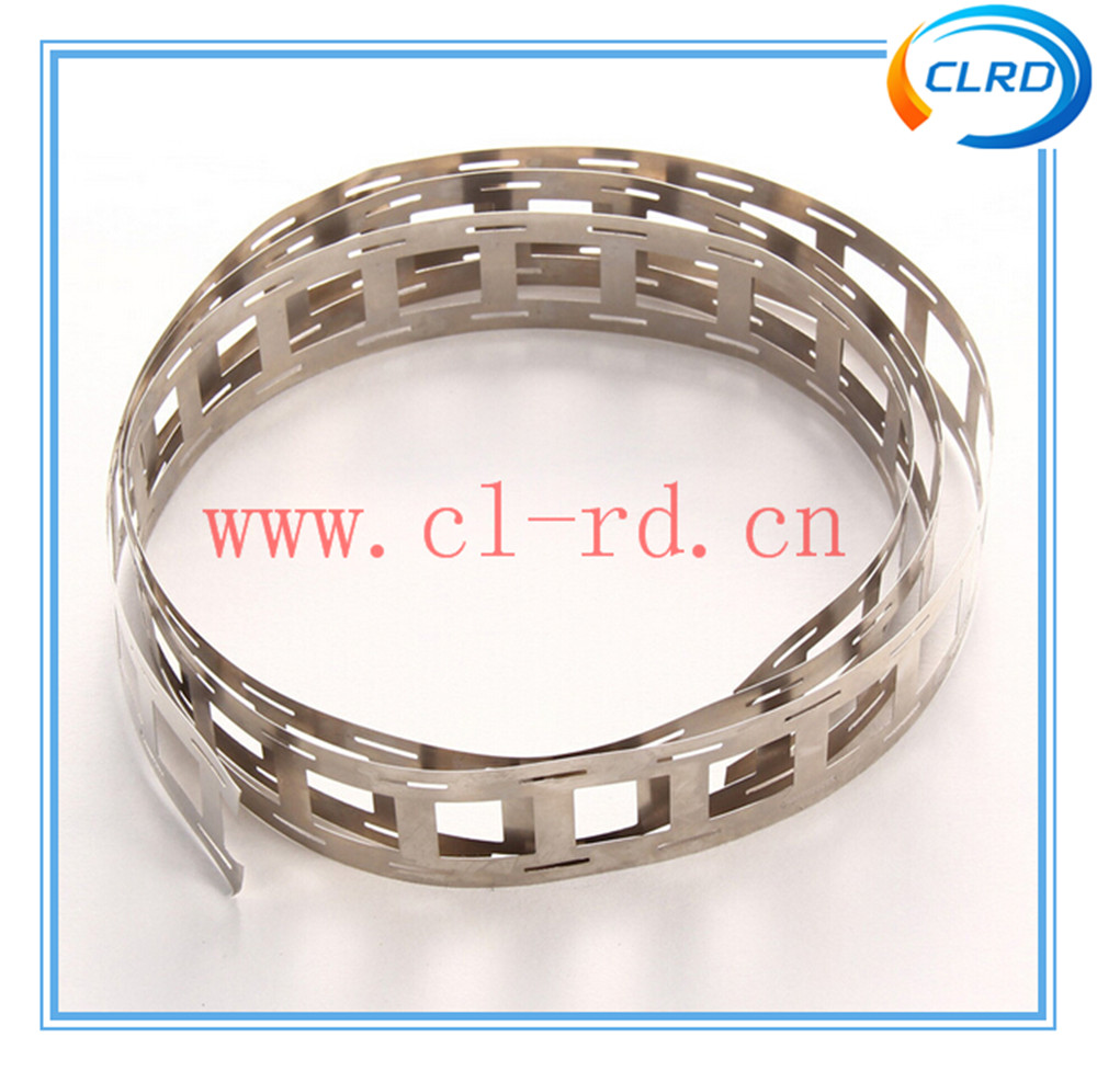 nickel and nickel alloy strips for battery pack bulding 0.15*27mm