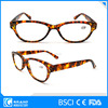 colorful stripe CE quality reading glasses