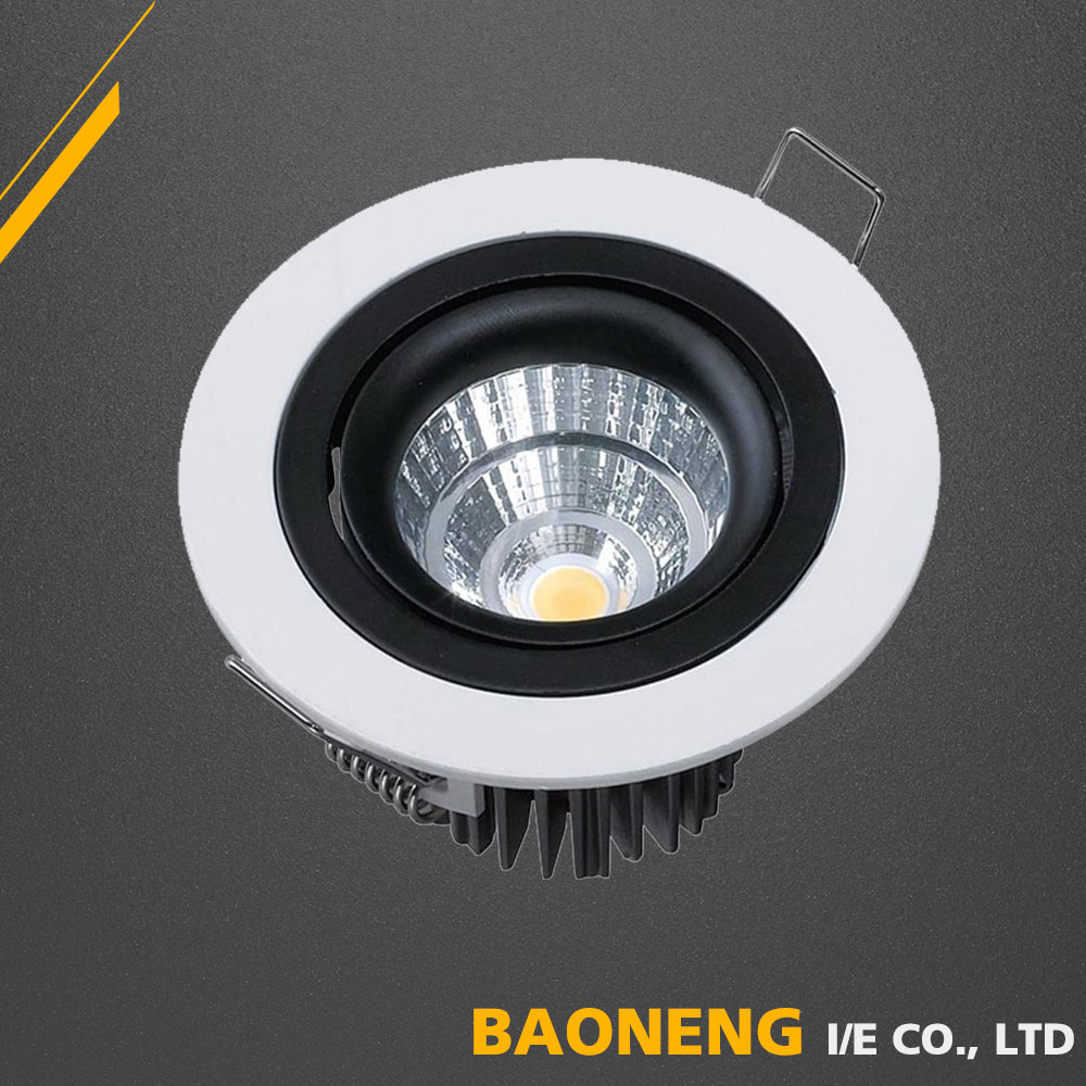 7W CE SAA RoHS Wholesale Diffuser Indoor LED Ceiling Recessed Lights