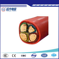 4 Core Cu/XLPE/Swa/PVC Underground Armoured Power Cable Size