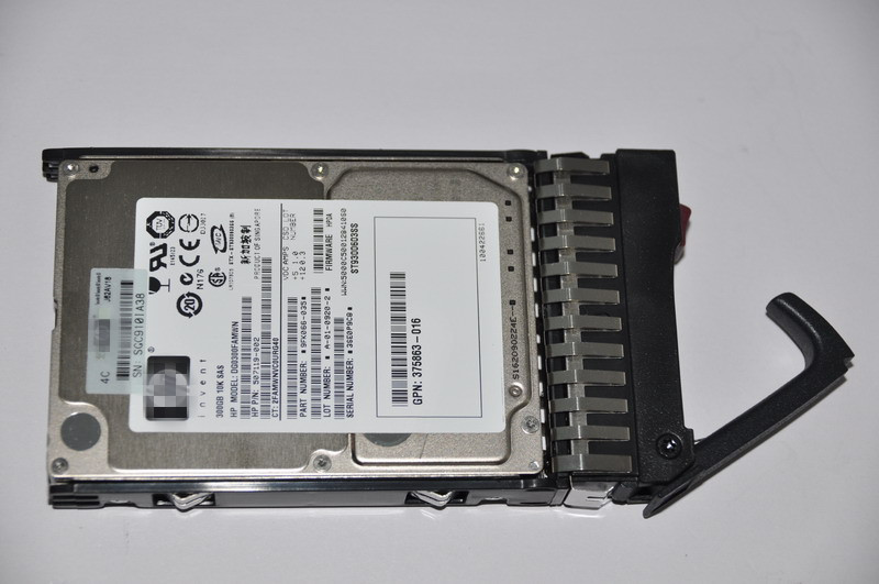 For HP 300GB 6G SAS 10K SFF (2.5-inch) Dual Port Enterprise Hard Drive for HP hard disk 507127-B21