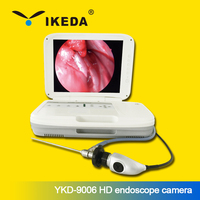Medical endoscope/portable led light source video endoscopy