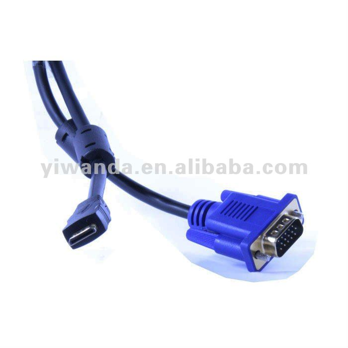2012 high quality vga cable to idc