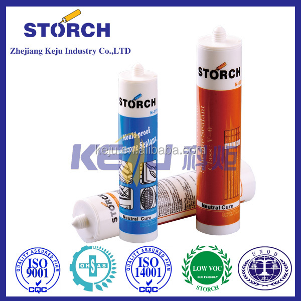Metals Excellant Sealing and Adhesion High Temperature Silicone Sealant