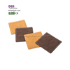 Restaurant Tea Cup Square Printed Coaster Mat