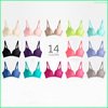 Hot selling no trace Wireless ladies sexy bra girls sexy picture