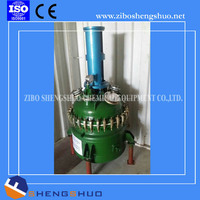 Pressure vessel chemical stirrer reactor tank glass lined reactor