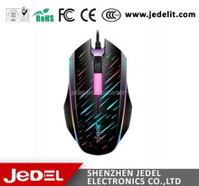 NEW M50 LED flash computer USB wired aula gaming mouse