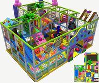 Wooden Soft Indoor Kids Play House Zone