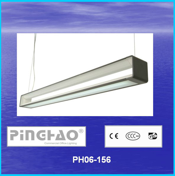 Aluminum 1200mm led chandelier indirect lighting