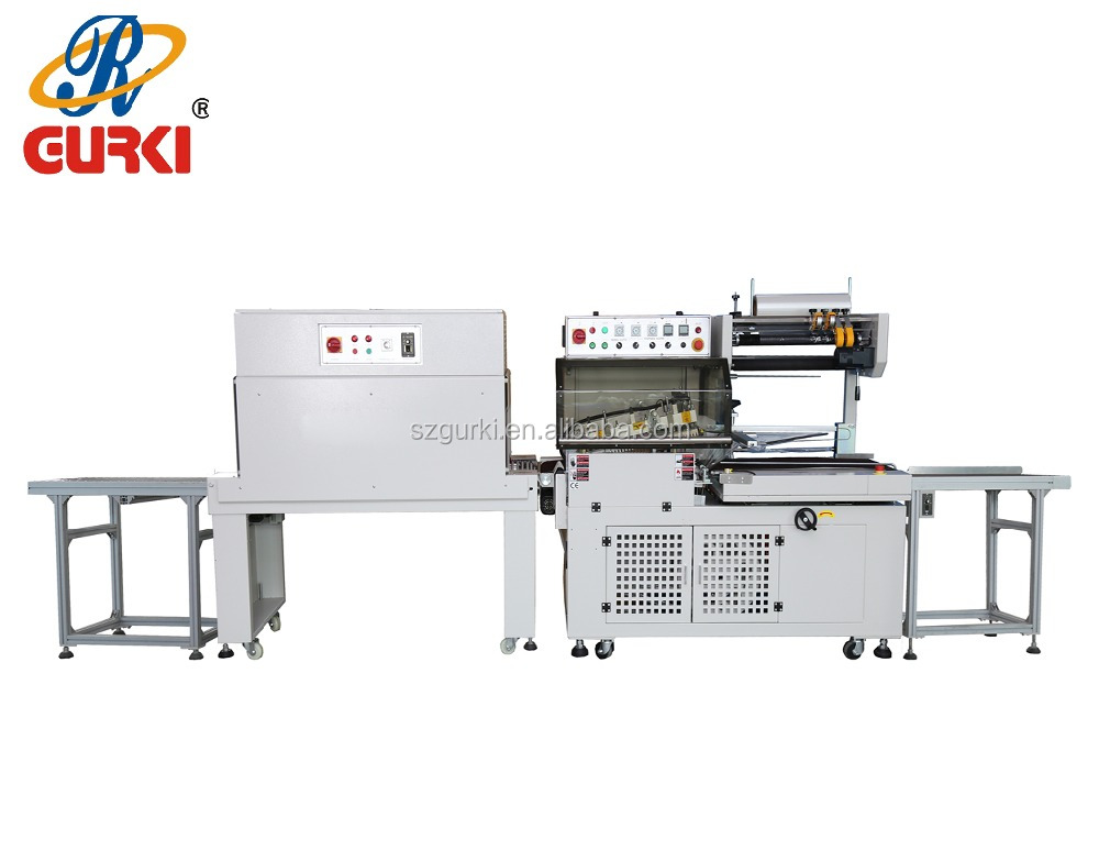 L bar sealer and automatic shrink wrap packing machine(CE) from Shenzhen manufacturer
