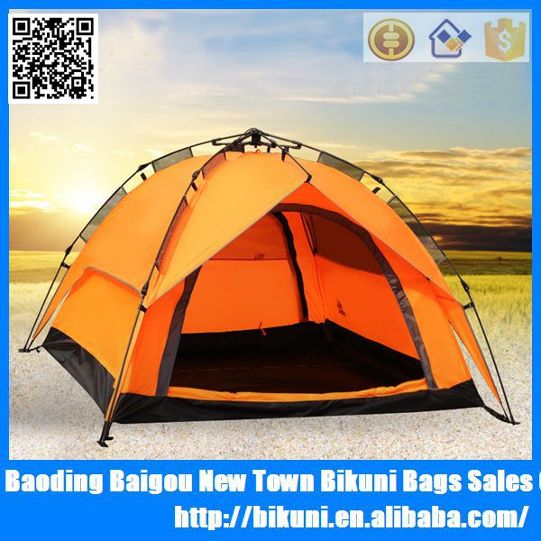 New fashion 2015 outdoor camping automatic open tent for 3 person