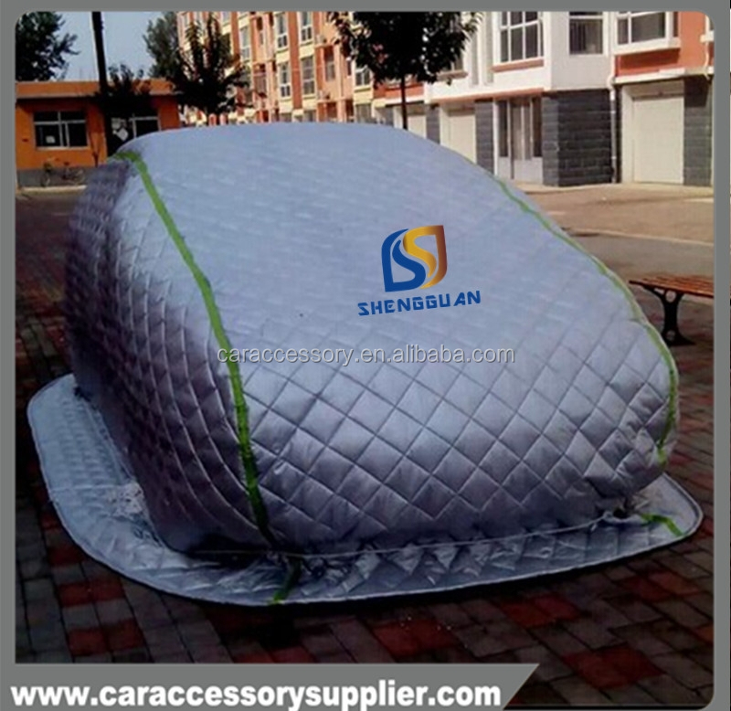 Heated design popular snow proof warm car cover