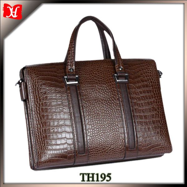 High quality briefcase bags executive leather briefcase crocodile leather briefcase men