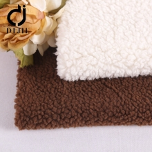 Cheap high quality wholesale white super soft berber Fleece fabric
