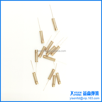 high quality switch spring with lead leg wire