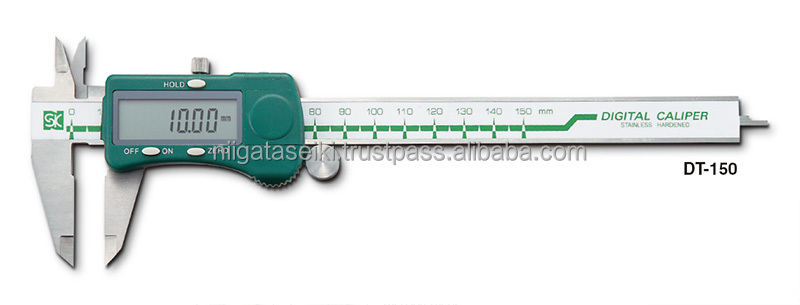 DIGITAL CALIPERS DT series DT-100, 150, 200, 300 for exhaust muffler