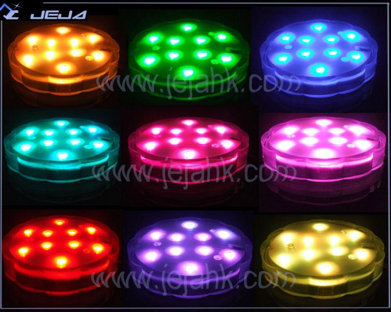 9 multi color led decoraci n luces con pilas para navidad - Luces led a pilas para armarios ...