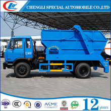 Dongfeng 4x2 swing arm garbage truck for hot sale