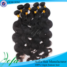 Equal quality as grade 7A unprocessed brazilian virgin hair