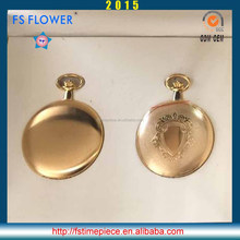 FS FLOWER - High Quality Watch Brass Case Vintage Antique Pocket Necklace Chain Watches