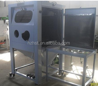 Stainless steel Wet sandblaster with turntable