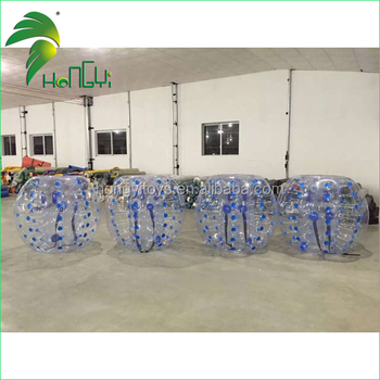 China Supplier Execting Design Clear Human Inflatable Bumper Balls for Adults