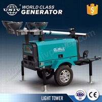 Trailer Mounted Mobile Electric Light Tower