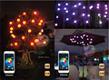 String Lighting ball colorful with bluetooth speaker