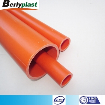Cheap AS2053 Orange electric wiring upvc pipe