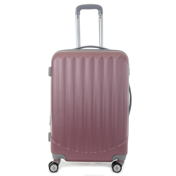 BEIBYE 3 pieces trolley luggage sets, pink luggage sets