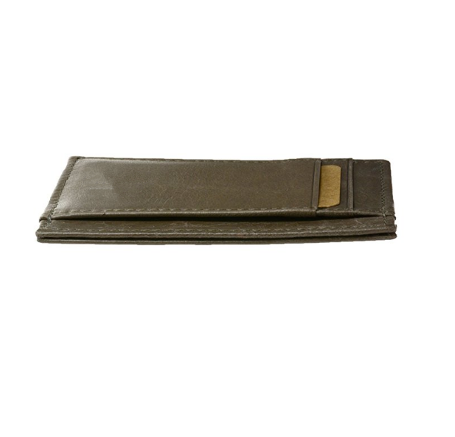High quality Blocking Minimalist wallet Leather pocket Slim Wallet