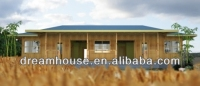 rain shelter prefabricated mobile house