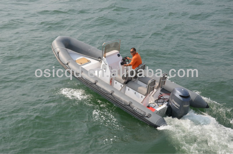 2014 NEW MODEL RIB BOAT 650D RIGID INFLATABLE BOAT