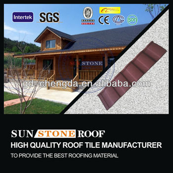 Shingle Clay Roof Tiles / Metal Roofing Panel Material