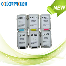 Ink cartridge CC9371 CC9372 CC9373 C9374 C9403 for hp 770 T790 T1100 T1100p T1100MFP